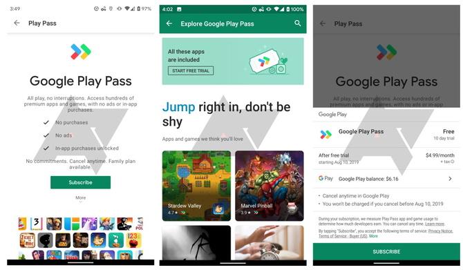 Google Play Pass - setki gier i aplikacji w abonamencie sklepu Play [3]