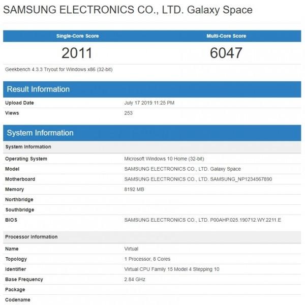 Samsung Galaxy Book S - laptop z układem SoC Snapdragon 855 [3]