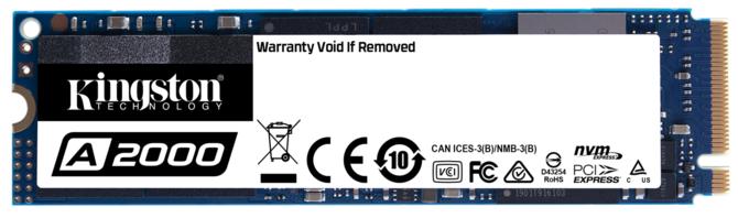 Kingston A2000 - nowy dysk SSD NVMe PCI-Express 3.0 x4 [1]