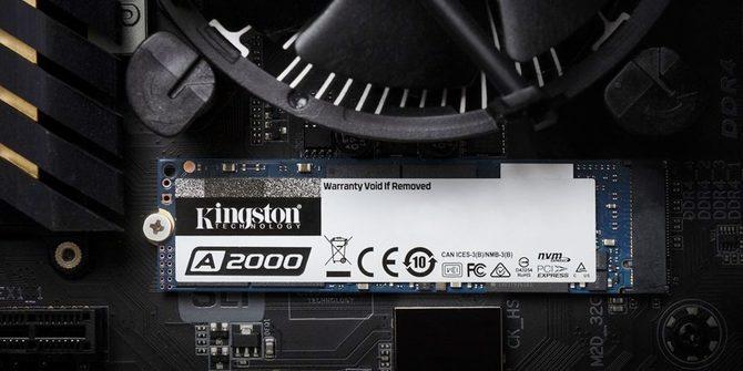 Kingston A2000 - nowy dysk SSD NVMe PCI-Express 3.0 x4 [2]