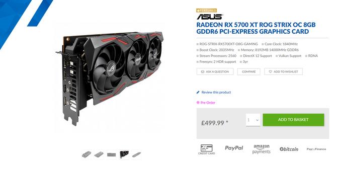 AMD Radeon RX 5700 XT - Znamy ceny pierwszych autorskich modeli  [2]