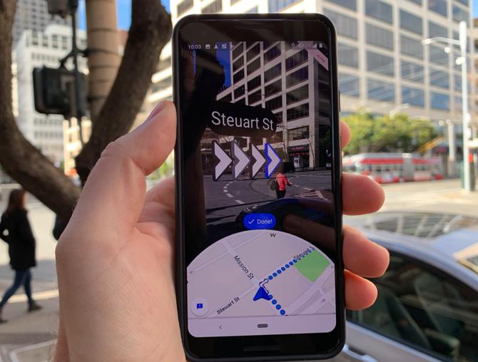 Google Maps Live View - rozszerzona rzeczywistość od dziś w Polsce [2]