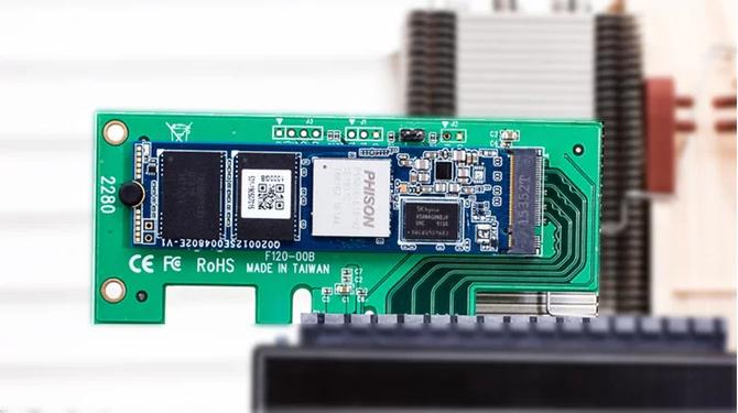 Phison PS5018-E18 - Najszybszy kontroler dla SSD NVMe PCIe 4.0 [1]