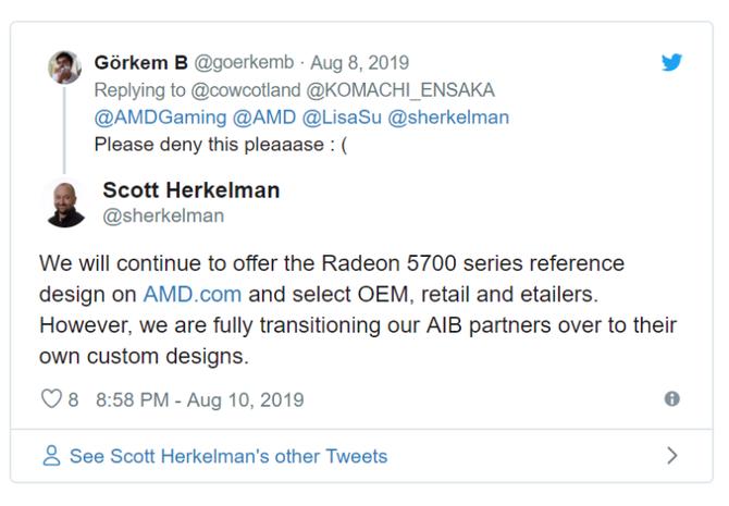 AMD będzie nadal oferować referencyjne Radeony RX 5700 (XT)  [2]