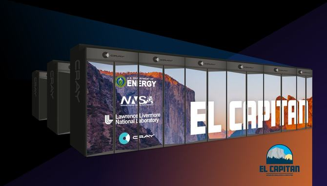 El Capitan - NNSA zamawia superkomputer z mocą 1,5 EksaFlopsa [1]