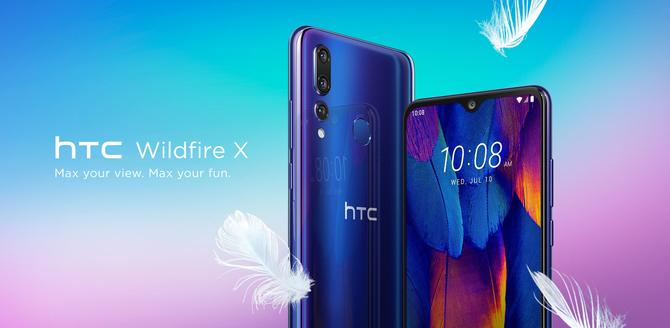 HTC Wildfire X - nowy średniak z dobrze kojarzącą się nazwą  [1]