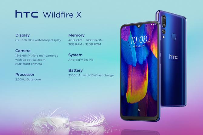 HTC Wildfire X - nowy średniak z dobrze kojarzącą się nazwą  [2]