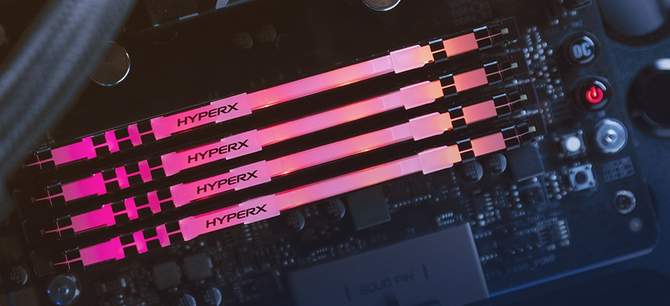 HyperX Fury - Odświeżone moduły RAM DDR4 z RGB LED [2]