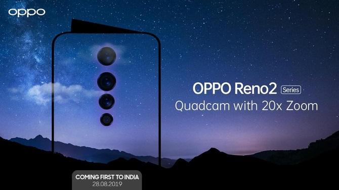 Oppo Reno 2 - zapowiedziano nową serię oryginalnych smartfonów [1]