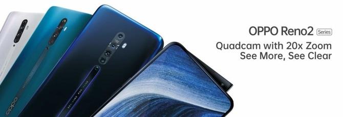 Oppo Reno 2 - zapowiedziano nową serię oryginalnych smartfonów [2]
