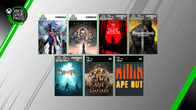 Xbox Game Pass sierpień 2019: Age of Empires, Devil May Cry 5... [2]