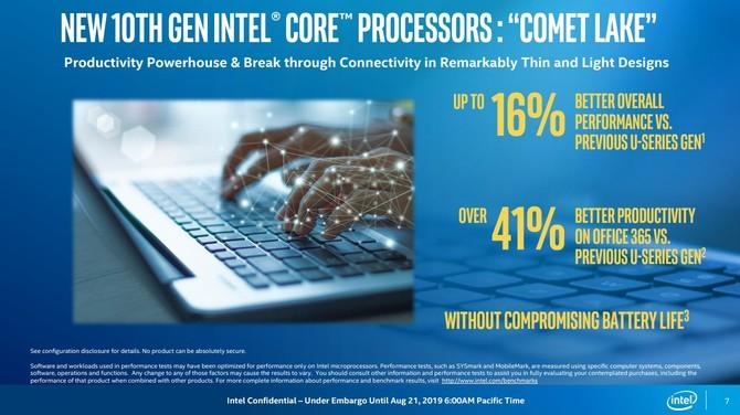 Intel Comet Lake - oficjalna zapowiedź niskonapięciowych układów [4]