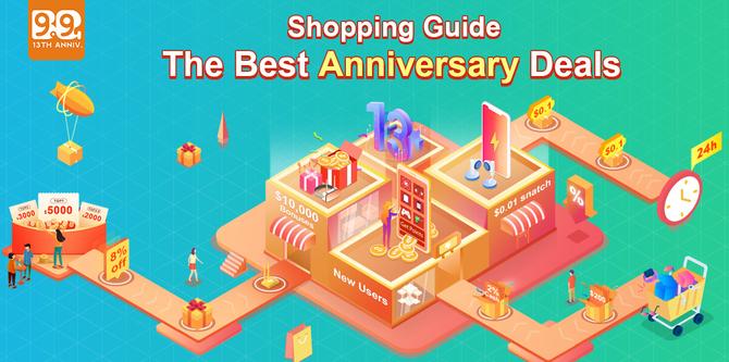 Banggood 13th Anniversary - Promocje na smartfony, tablety i laptopy [2]