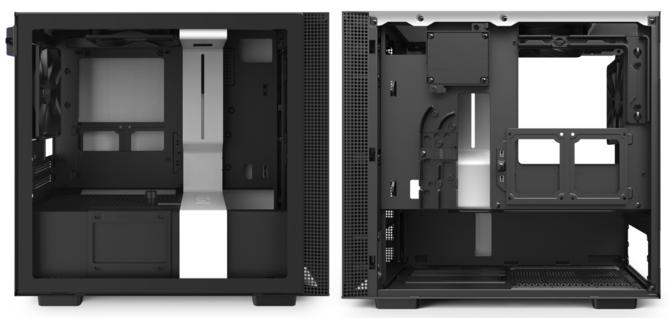 NZXT H210 i H210i - Firma odświeża małe, klasyczne obudowy [2]