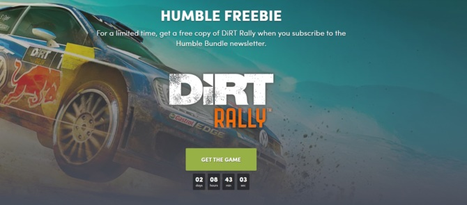 DiRT Rally do dostania za darmo od Humble Bundle [1]