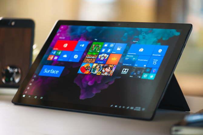 Microsoft zmienił dotykowy interfejs Windows 10 dla urządzeń 2w1 [1]