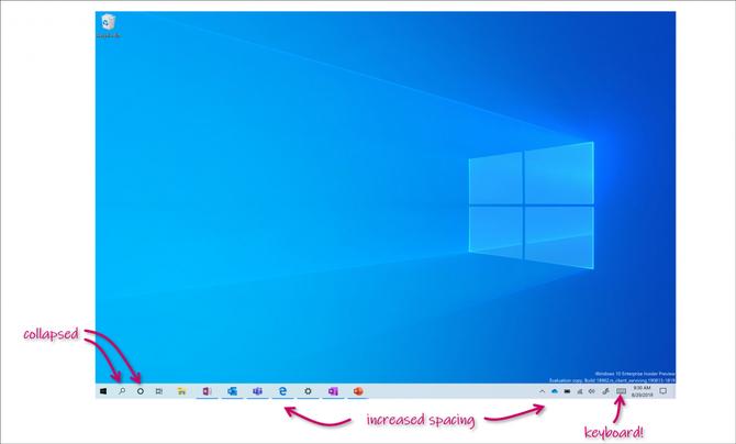 Microsoft zmienił dotykowy interfejs Windows 10 dla urządzeń 2w1 [2]