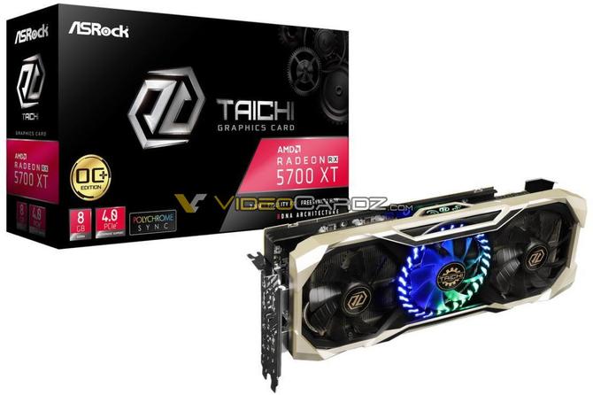 ASRock Radeon RX 5700 XT Taichi OC - Zdjęcia karty graficznej  [1]