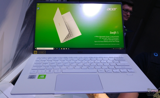 Acer Swift 5 (2019) - laptop z Intel Ice Lake-U oraz GeForce MX250 [2]