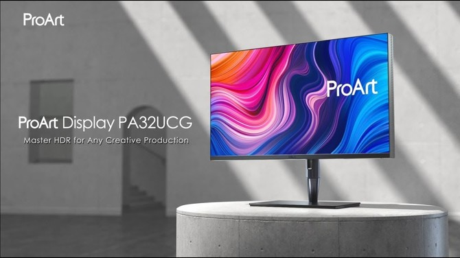 ASUS ProArt Display PA32UCG - monitor 4K z DisplayHDR 1400 [1]