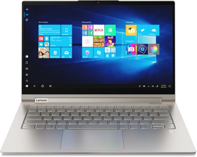 Nowe laptopy Lenovo YOGA C940 z Intel Ice Lake-U oraz i9-9880H [4]