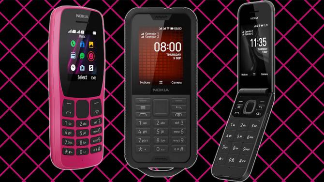 Nokia 110, Nokia 2720 Flip i Nokia 800 Tough - nowe klawiszowce [5]