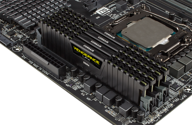 Pamięci RAM Corsair Vengeance LPX 4866 MHz dla AMD Ryzen 3000 [1]