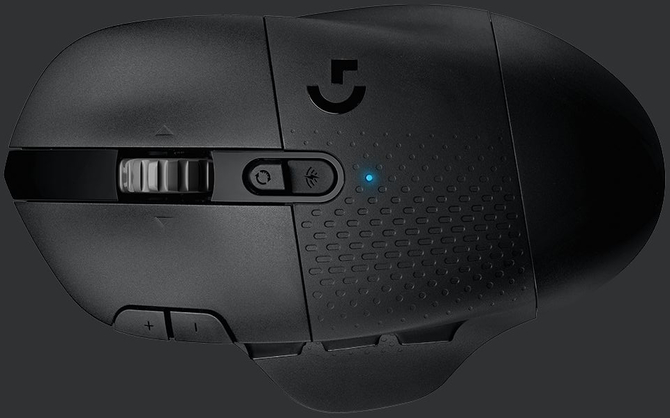 Logitech G604 Lightspeed - Bezprzewodowa mysz z 15 przyciskami [2]