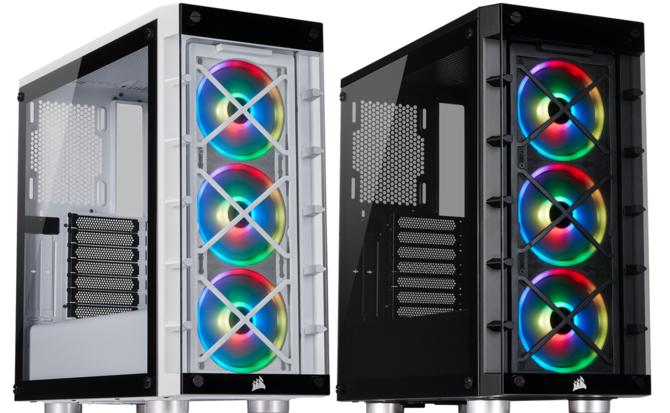 Corsair iCUE 465X - Obudowa dla fanów podświetlenia RGB LED [1]