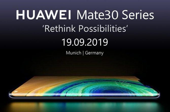 Smartfony Huawei Mate 30 i Mate 30 Pro nie kupimy w Polsce! [2]