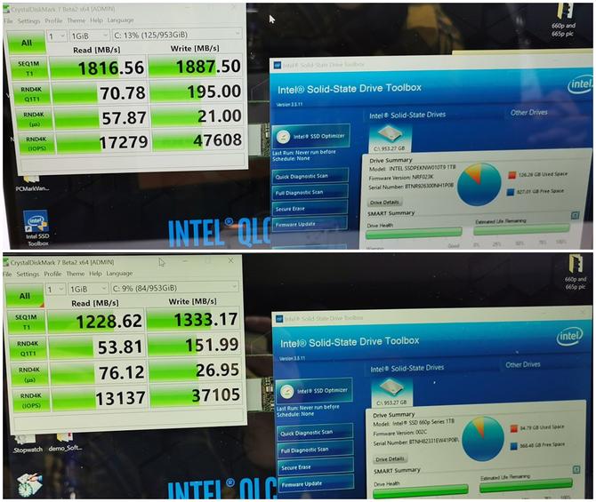 Intel zapowiada nowe dyski SSD 665p z pamięcią 3D QLC NAND [2]