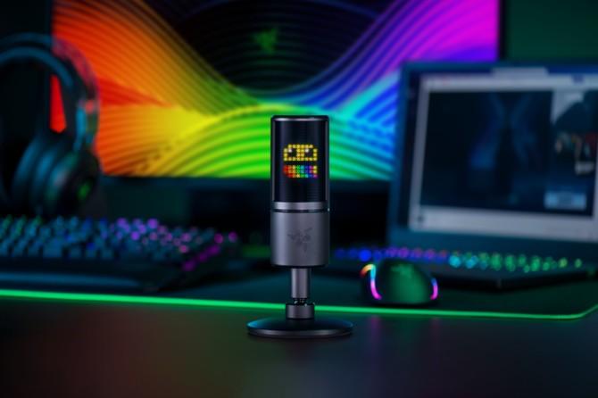 Nowy mikrofon Razer pokaże nam... emotki na wyświetlaczu LED [1]