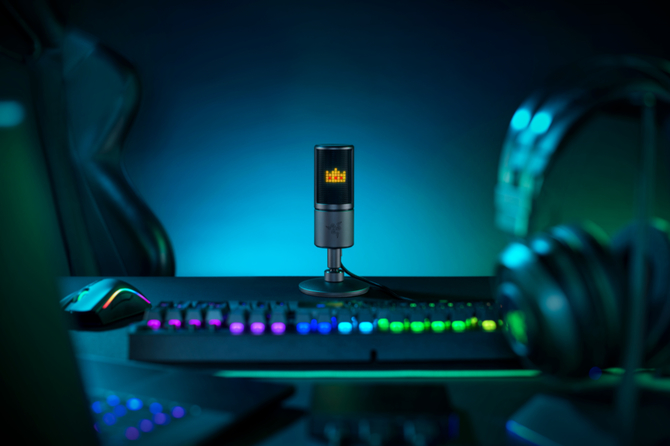 Nowy mikrofon Razer pokaże nam... emotki na wyświetlaczu LED [2]