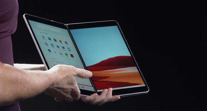 Microsoft Surface Neo - innowacyjny sprzęt z dwoma ekranami [8]