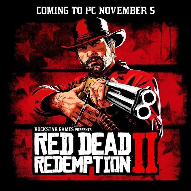 Red Dead Redemption 2 - Rockstar oficjalnie potwierdza grę na PC! [2]