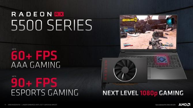 AMD Radeon RX 5500 i RX 5500M - Oficjalna zapowiedź nowych kart [5]