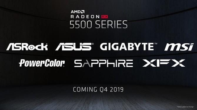 AMD Radeon RX 5500 i RX 5500M - Oficjalna zapowiedź nowych kart [8]