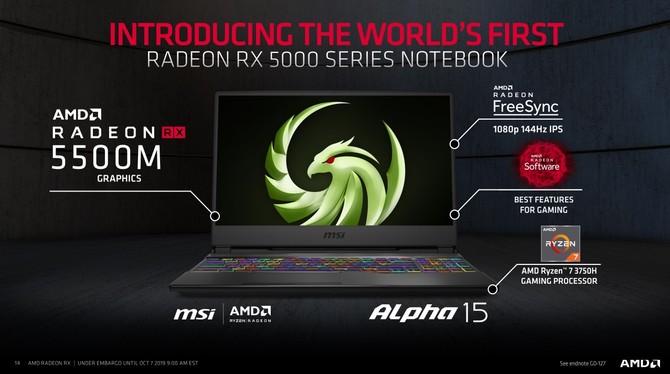 AMD Radeon RX 5500 i RX 5500M - Oficjalna zapowiedź nowych kart [9]