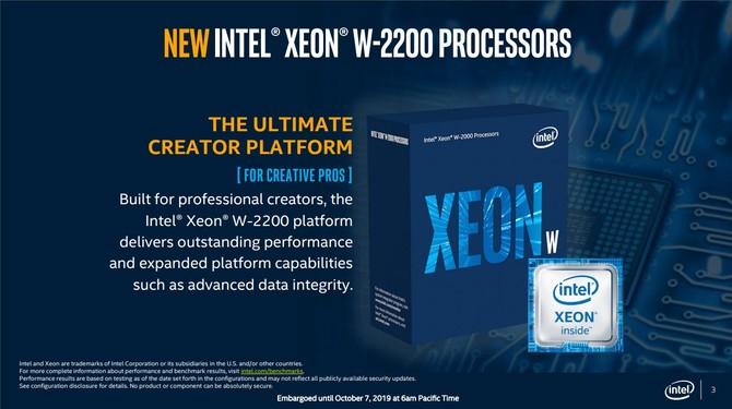 Intel Glacier Falls - Specyfikacja i premiera procesorów Intel Xeon-W [2]