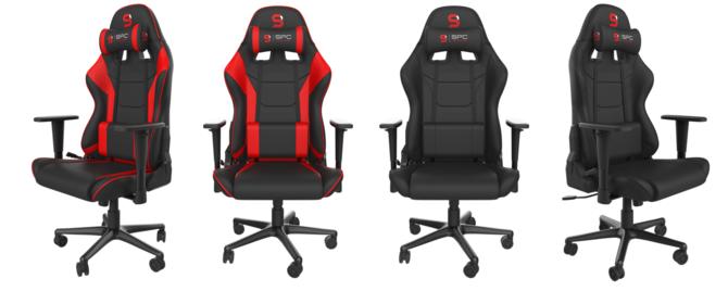 SPC Gear SR300F V2: 2. generacja gamingowego fotela w tkaninie [1]