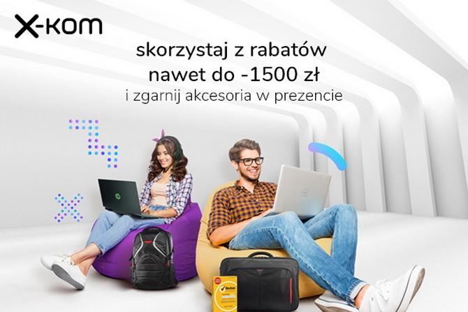 Tydzień promocji na laptopy i tańsze podzespoły w sklepach x-kom [1]