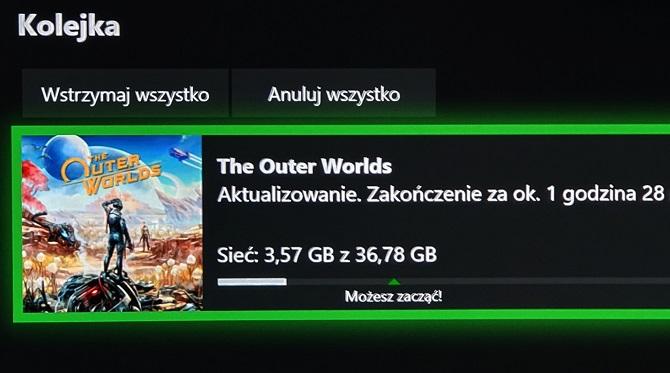 Na konsolach The Outer Worlds w 4K tylko na Xbox One X  [nc1]