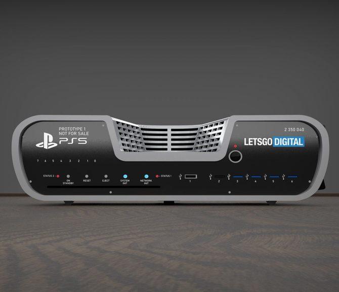 Sony PlayStation 5 - mamy zdjęcie i rendery nowej konsolii [3]