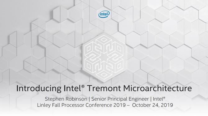 Intel Tremont - nowa architektura dla procesorów Atom [1]