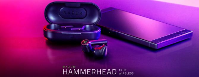 Razer wprowadza słuchawki bluetooth Hammerhead True Wireless [1]