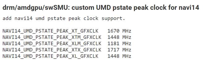 AMD Navi 14 - w sterownikach Linuxa odkryto ślady pięciu układów [2]