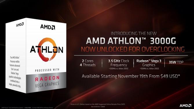 AMD Athlon 300G - tanie APU dla budżetowych komputerów [1]