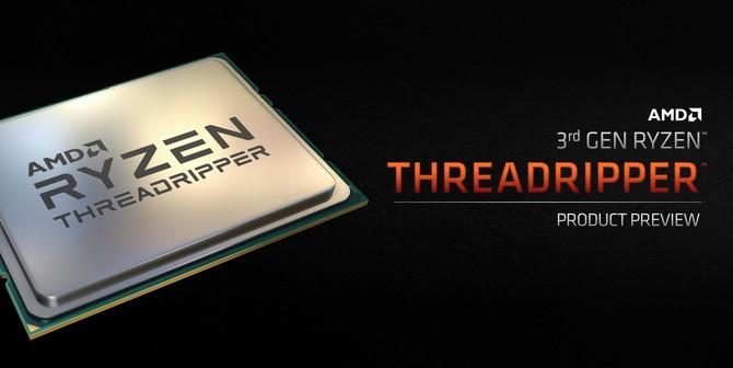 AMD Ryzen Threadripper 3960X i 3970X - Zapowiedź oraz ceny [1]