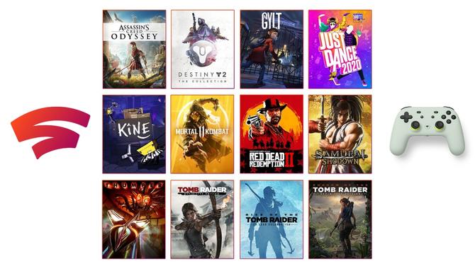 Google Stadia - znamy listę gier dostępnych na start usługi [1]