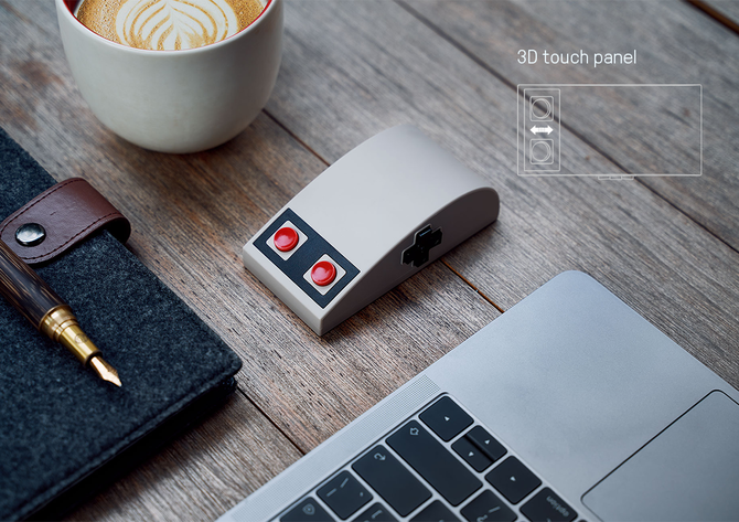 8BitDo N30 - Bezprzewodowa mysz stylizowana na kontroler NES  [3]